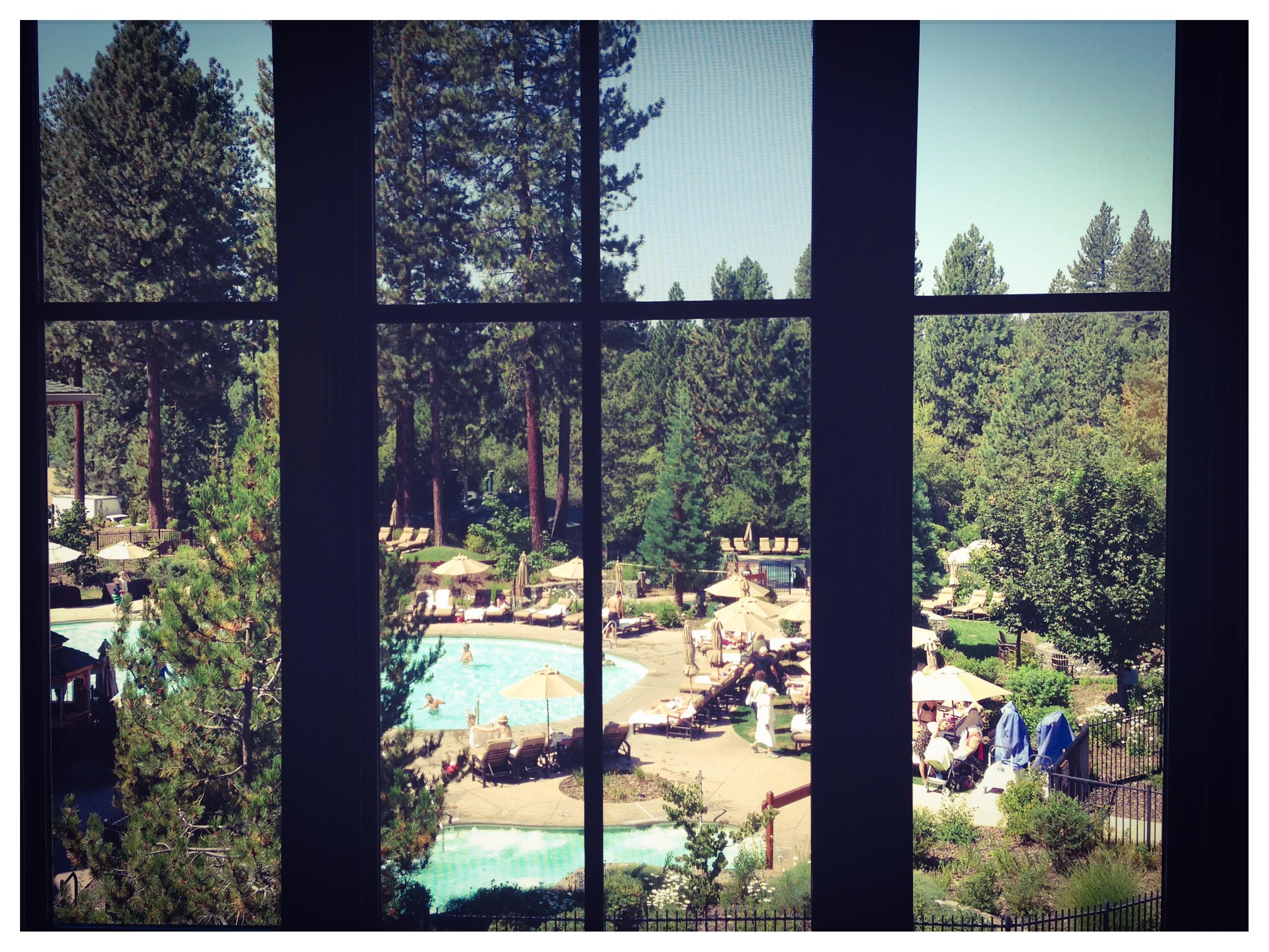 Hyatt Lake Tahoe, View from our Room