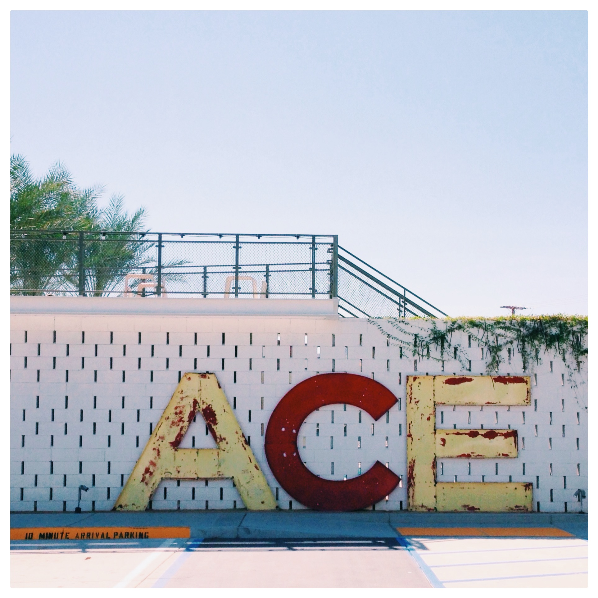 The Ace Palm Springs, Entrance