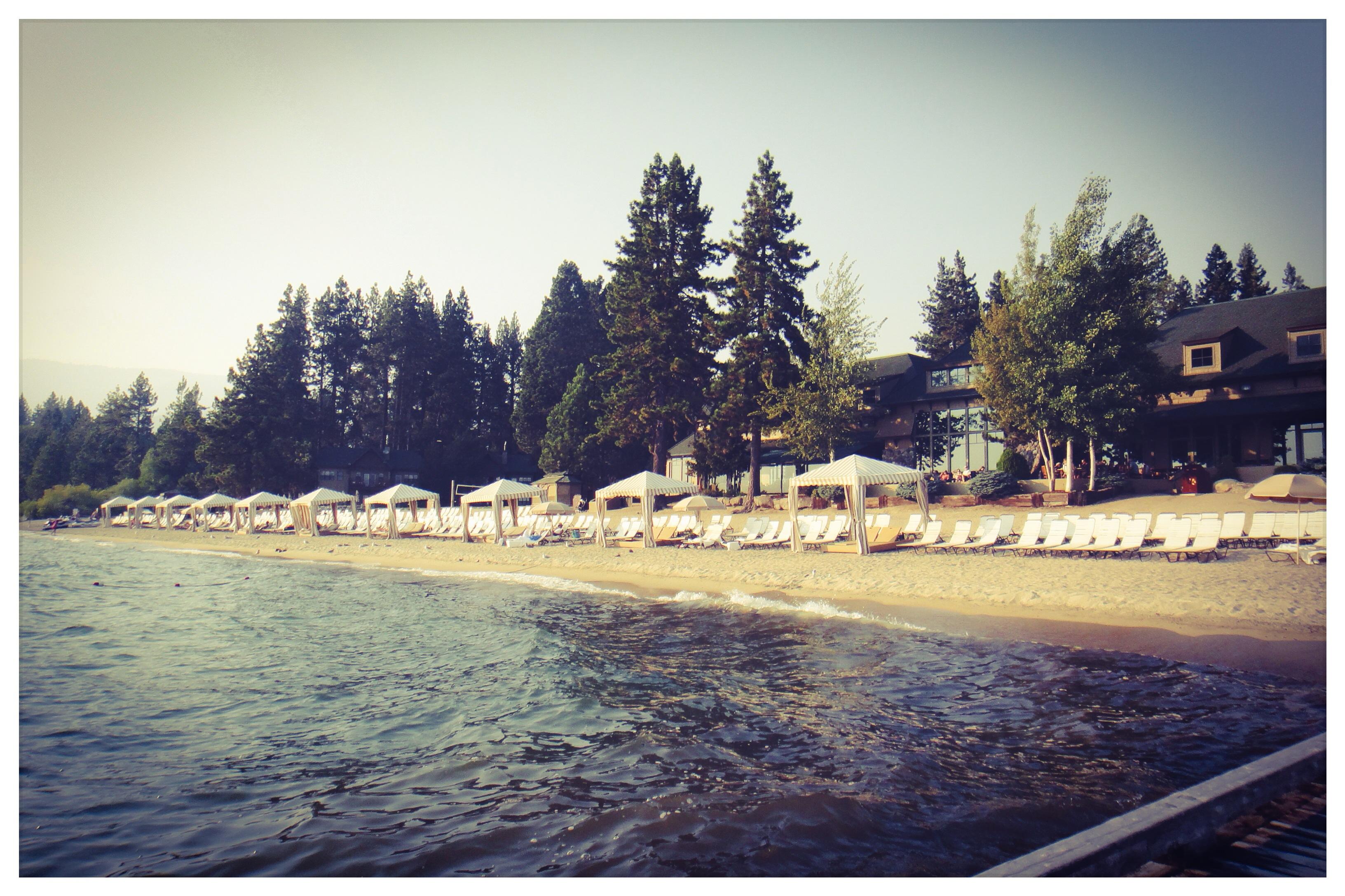 Hyatt Lake Tahoe, Private Beach 1