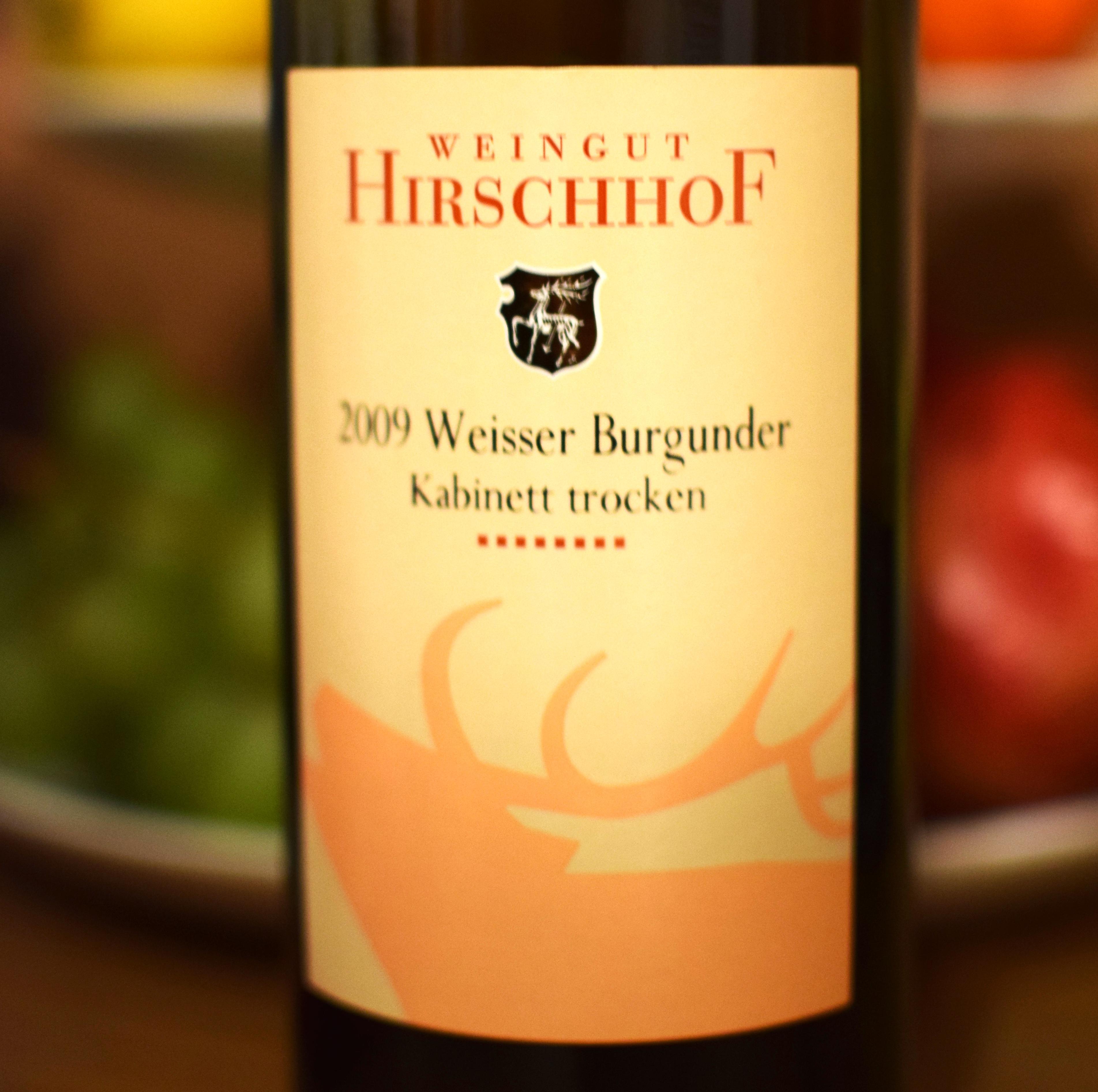 2009 Weisser Burgunder, Weingut Hirschhof